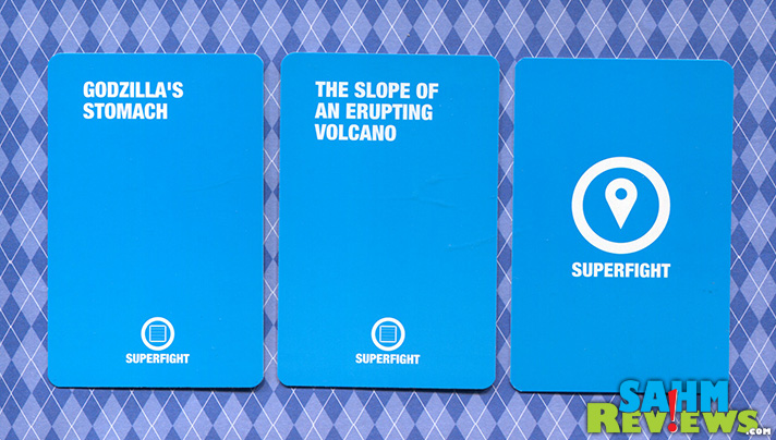 This week's Thrift Treasure is a unique card game called SuperFight. Battle your opponent in this hilarious take on the classic game of War. - SahmReviews.com