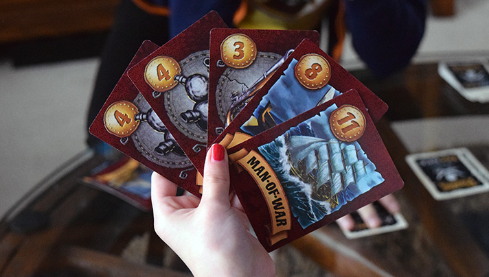 Pirate-themed board games have been popular for decades. Here's a rundown of some we're covered and even more we hope to tell you about in the future! - SahmReviews.com