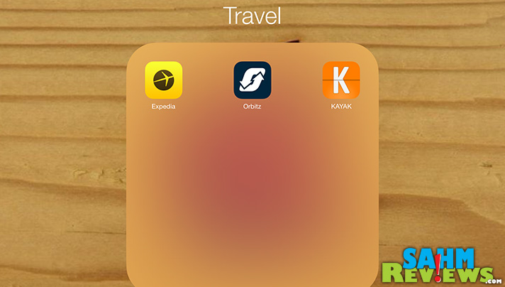 There are a variety of apps available to make travel easier. - SahmReviews.com #BloggerBrigade