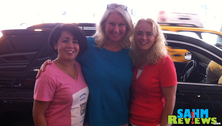 My carpool buddies for BlogHer. - SahmReviews.com #BloggerBrigade