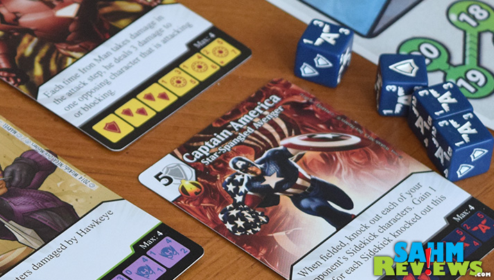 Marvel Avengers characters are key to this Dice Masters game. - SahmReviews.com