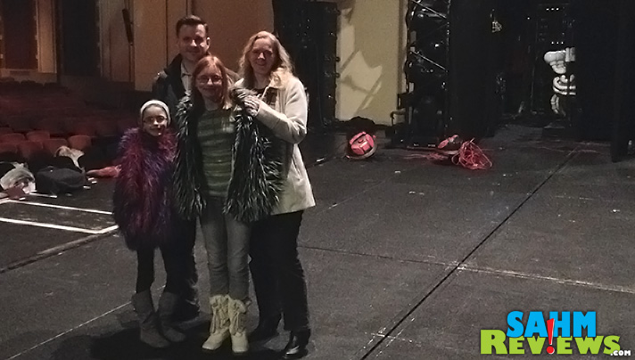 We had the chance to go back stage at Blue Man Group! - SahmReviews.com