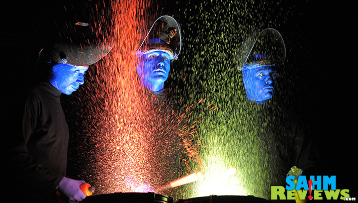 Is Blue Man Group a dramatic performance? A concert? A comedy act? Yes! - SahmReviews.com