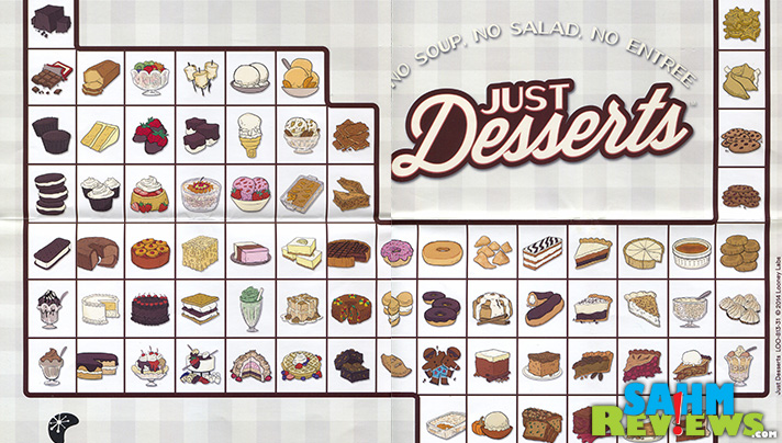 A periodic table of elements that is Just Desserts. - SahmReviews.com