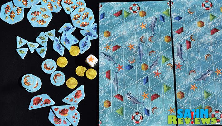It's a fishy game! Let Them Eat Shrimp is great for ages 6+. - SahmReviews.com