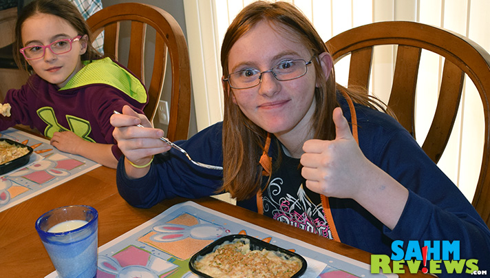 Our kids loved the new Stouffer's Mac & Cheese. (So did we!) - SahmReviews.com