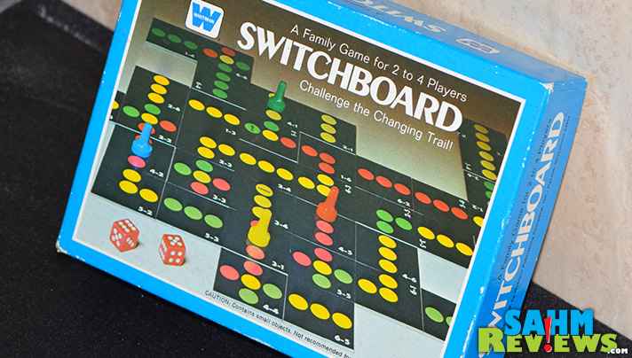 This week's Thrift Treasure appears to be one that is rather hard to find. No copies on eBay or Amazon! Let's look at Switchboard by Whitman. - SahmReviews.com
