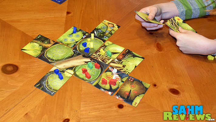 We love it when we find a game that appeals to both adults and kids. Bullfrogs by Thunderworks Games has a great design and more strategy than you'd expect. - SahmReviews.com