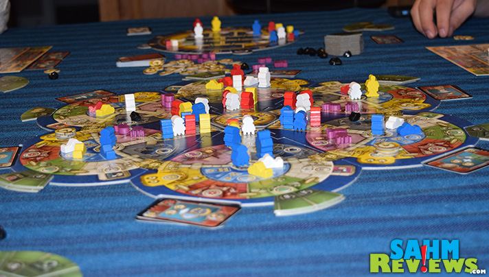 Simulate the life of an underwater researcher in this new title from Tasty Minstrel Games, AquaSphere. It's quickly become our most requested game to bring! - SahmReviews.com