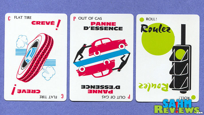 This week's Thrift Treasure brought back memories of playing it as a child. MIlle Bornes from Parker Brothers was a classic then, and is still is today! - SahmReviews.com