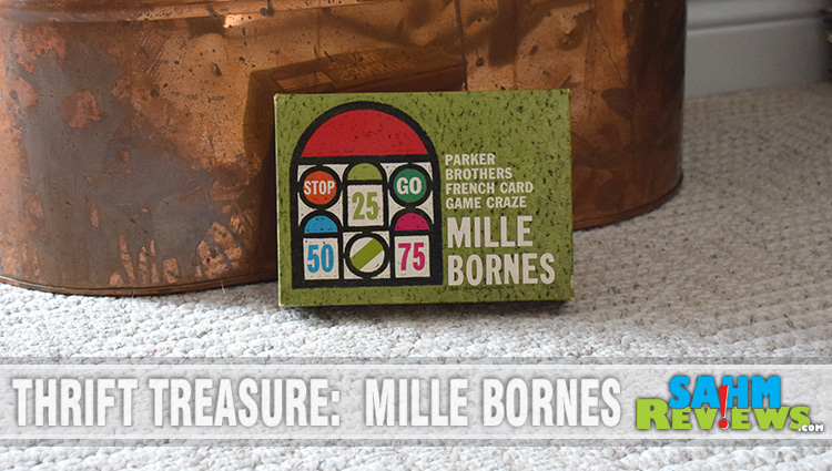 Thrift treasure mille bornes for Dujardin 1000 bornes