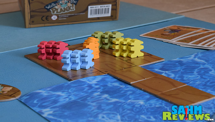 Walk the Plank is a quick and easy game for up to 5 players. - SahmReviews.com