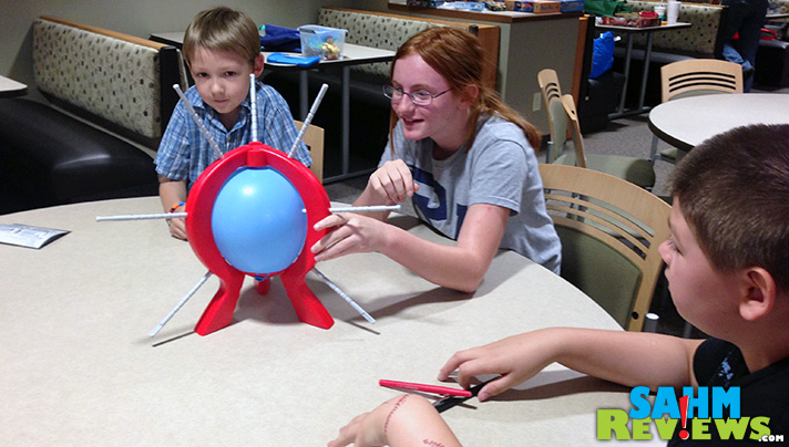 If you've played Jenga or Don't Break the Ice, then you'll love Boom Boom Balloon from Spin Master Games. But make sure you buy an extra bag of balloons! - SahmReviews.com