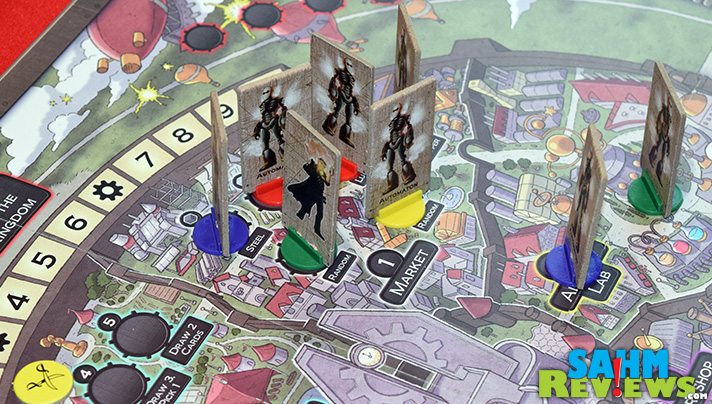 Another successful Kickstarter, Clockwork Kingdom from Mr. B Games hits the mark on play-ability but slightly misses on design. Find out why! - SahmReviews.com