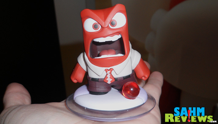Hello, Anger! How can you be angry at Disney Infinity 3.0? #InsideOutEvent #DisneySMMC