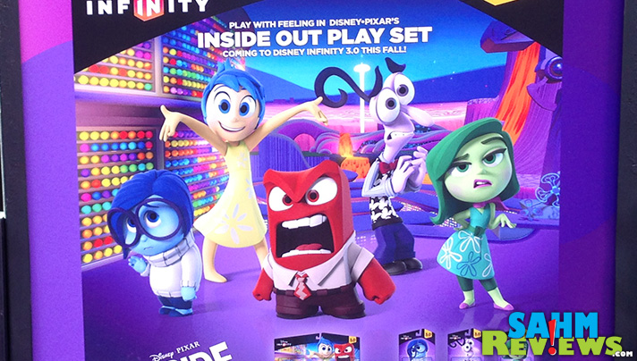 Celebrities were checking out the Inside Out Play Set for Disney Infinity 3.0 during the Inside Out movie premiere. #InsideOutEvent #DisneySMMC