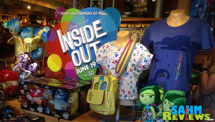 From fun to fashion, there is Inside Out merchandise to meet your emotions. - SahmReviews.com #InsideOutEvent