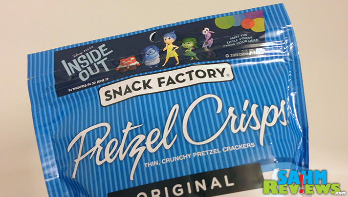 "Pretzel Crisps gives new meaning to the phrase ""Emotional Snacking""  - SahmReviews.com #InsideOutEvent"