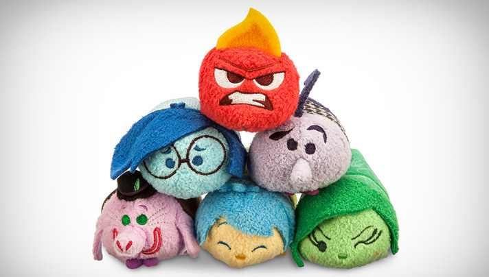 Going, going, gone! Inside Out Tsum Tsum collection is tough to find. They're SOOO cute! - SahmReviews.com #InsideOutEvent