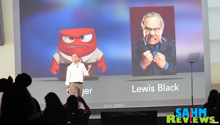 Lewis Black voices Anger in Pixar's Inside Out movie. - SahmReviews.com #InsideOutEvent