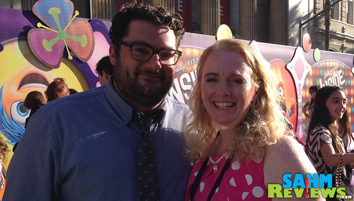 Bobby Moynihan was friendly as could be at the Inside Out premiere in Hollywood. - SahmReviews.com #InsideOutEvent