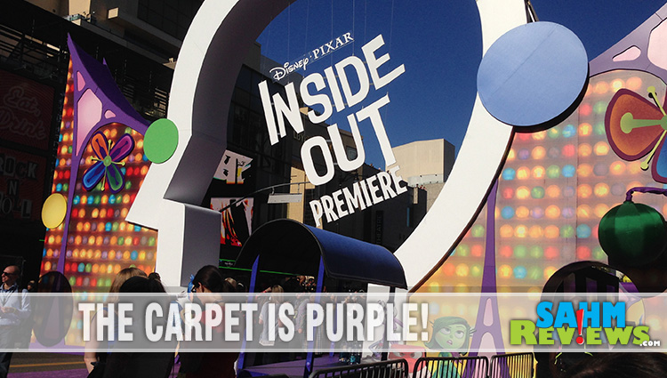 On the Inside Out Premiere Red Carpet