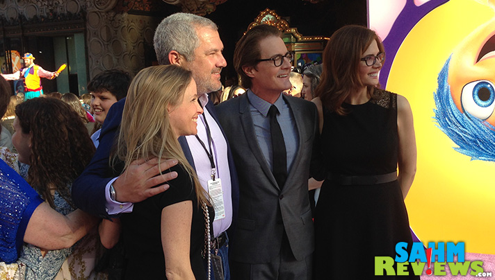 Kyle MacLachlan at the Inside Out premiere in Hollywood. - SahmReviews.com #InsideOutEvent