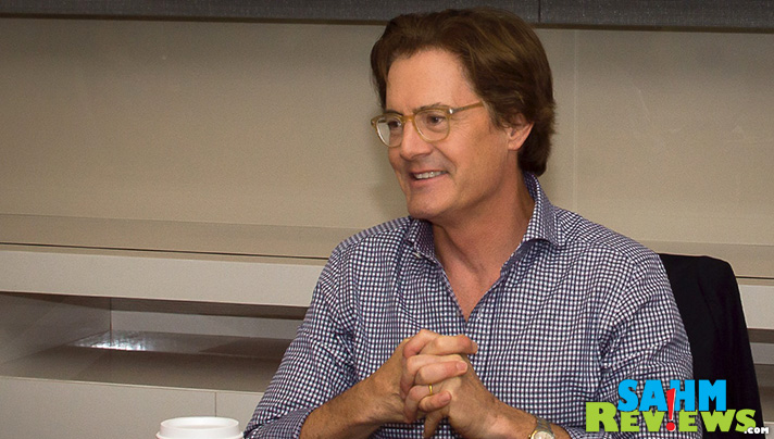 Kyle MacLachlan voices the dad in Disney Pixar Inside Out. Check out parts from our exclusive interview - SahmReviews.com #InsideOutEvent