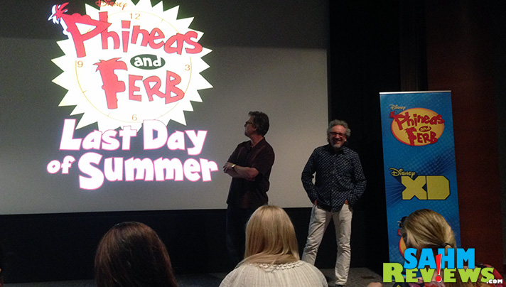 """Joining Dan Povenmire and Jeff """"Swampy"""" Marsh for a screening Last Day of Summer during the #PhineasandFerbEvent. - SahmReviews.com #LastDayofSummer"""