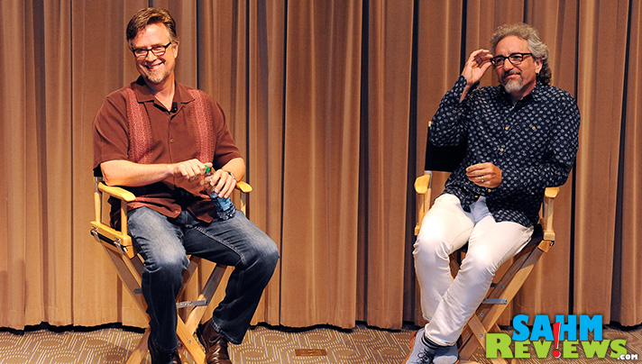 """We had the opportunity to ask Phineas and Ferb creators Dan Povenmire & Jeff """"Swampy"""" Marsh some questions during after screening The Last Day of Summer. - SahmReviews.com #PhineasandFerbEvent"""