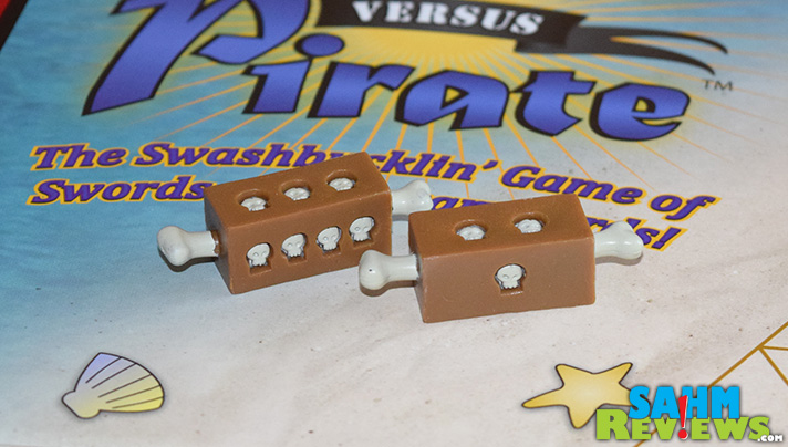 This is our first 3-player game, and if they're all as fun as Pirate vs. Pirate from Out of the Box, then it definitely won't be our last! - SahmReviews.com