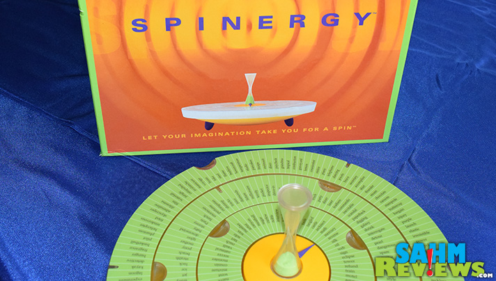 It's no secret we love well-designed games, especially ones with a modern twist. Spinergy is our latest Thrift Treasure, and is definitely fits that bill. - SahmReviews.com