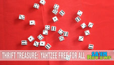 Thrift Treasure: Yahtzee Free for All