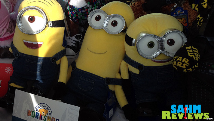 Make your own Minion at Build-a-Bear Workshop! - SahmReviews.com #BBNYC