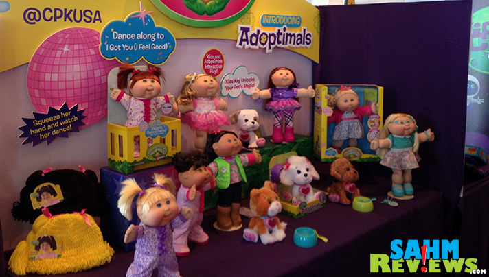 Cabbage Patch is always a recognizable product. Here are samples on diplay at Blogger Bash. - SahmReviews.com #BBNYC