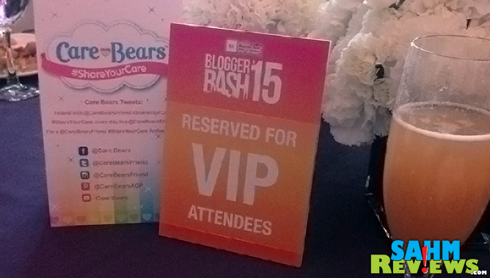 VIP seating at the Care Bears breakfast during Blogger Bash. - SahmReviews.com #BBNYC
