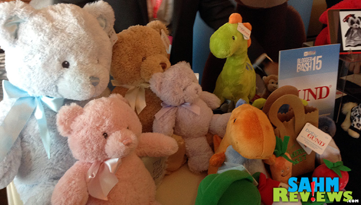 Gotta Get a Gund. A bear-y cuddly Blogger Bash exhibitor. - SahmReviews.com #BBNYC