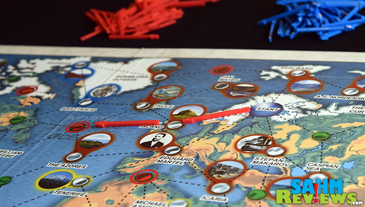 A game that teaches a bit of explorer history and requires strategy, Expedition: Famous Explorers kills two birds with one stone! - SahmReviews.com