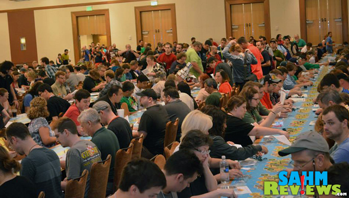 Combining our love of conventions and board games, we're headed to the biggest of them all! SahmReviews will be at Gen Con this year! - SahmReviews.com