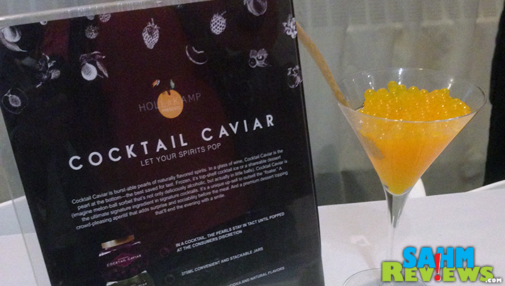 I would add caviar to my menu every night if I could have this Cocktail Caviar. Serious YUM factor. - SahmReviews.com #GettingGorgeous