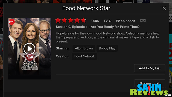 Best Food Netflix Shows