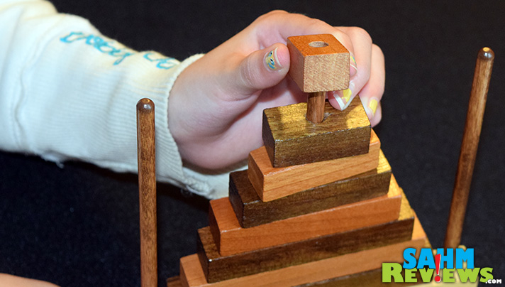 Learn how to solve Dreuke Games' Tree Puzzle in our weekly Thrift Treasure series. 10-year-old Kennedy shows you how easy it is! - SahmReviews.com