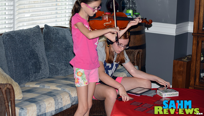 Music lessons are important, but flexing that creative mind is something we found curriculum to be lacking. Compose Yourself by ThinkFun should help fix it. - SahmReviews.com