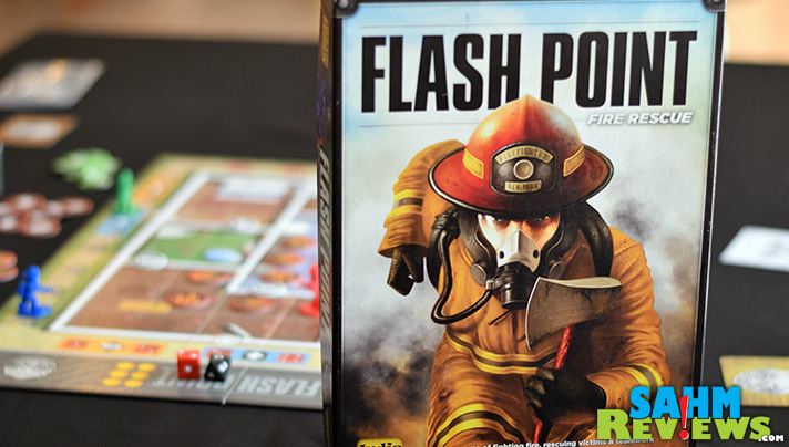 Games are more than zombies and aliens. In Flash Point: Fire Rescue by Indie Games, everyone works together to save people from a burning building! - SahmReviews.com