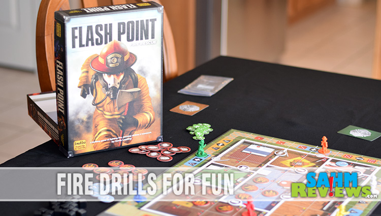 Flash Point: Fire Rescue Cooperative Game Overview