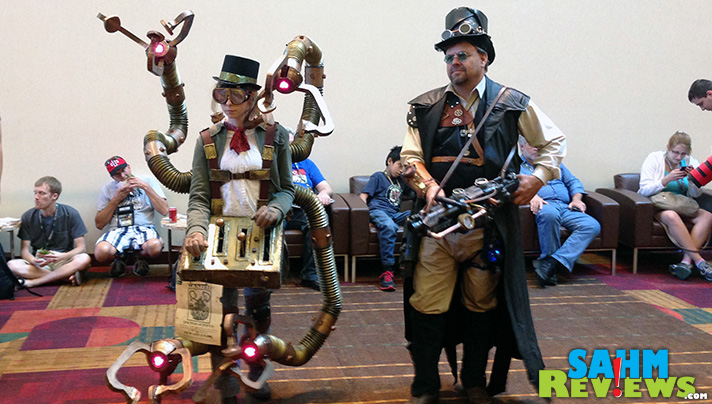Gen Con CosPlay costumes ranged from simple to very elaborate. - SahmReviews.com #GenCon