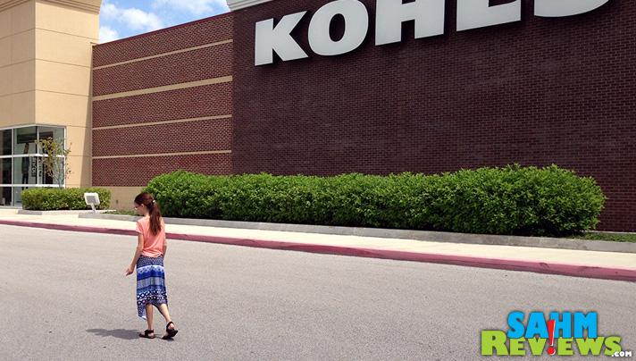 Back to school shopping at Kohl's. - SahmReviews.com