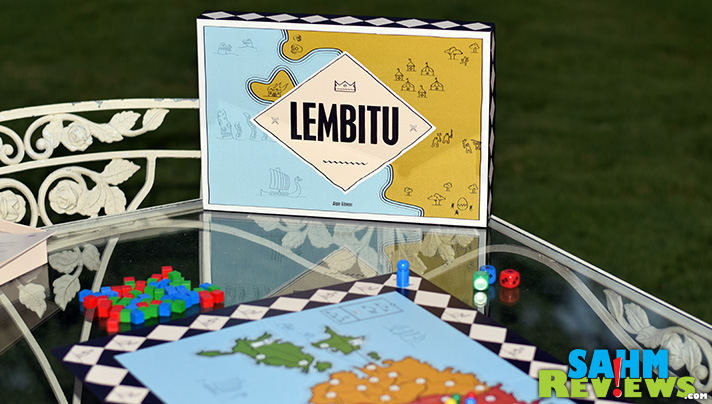 Based on actual historical events, Lembitu from 2D6 Games has you and your party defending your base from THREE oncoming enemy forces! - SahmReviews.com