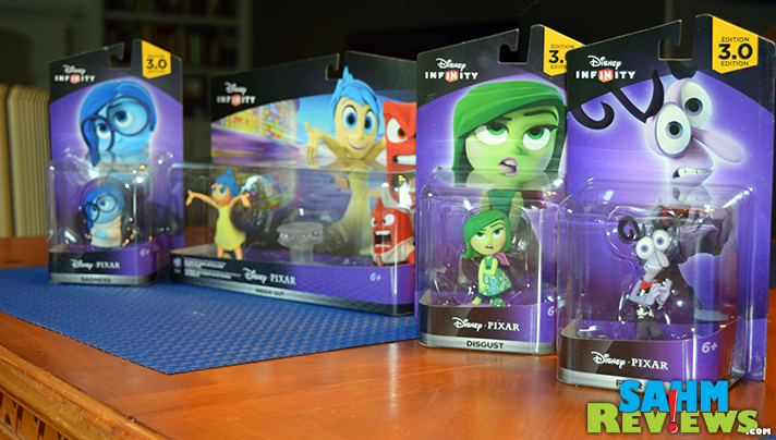 Inside Out is one of the many lines of characters available for Disney Infinity 3.0. - SahmReviews.com