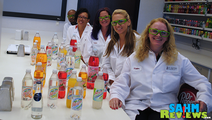 We were the first consumers allowed in the Dr Pepper Snapple Group labs! - SahmReviews.com #DPSFlavorTour
